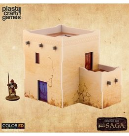 Plast-Craft Two-Story Desert Building - ColorED