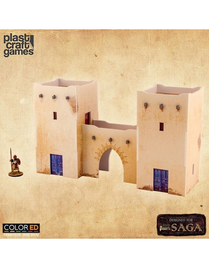 Plastcraft Arab Village Entrance - ColorED