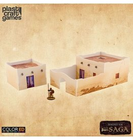 Plast-Craft Desert Building Set - ColorED