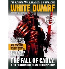 Games Workshop WHITE DWARF (JANUARY 2017)
