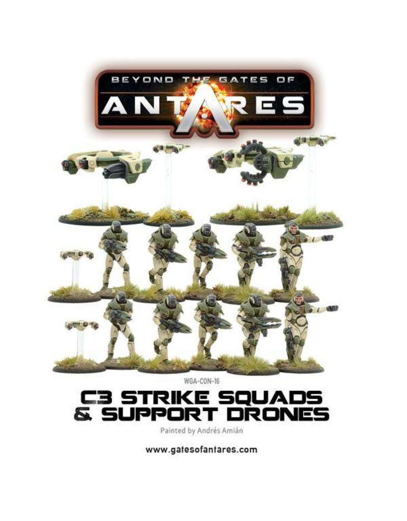 Warlord Games Concord Strike Squads & Support Drones
