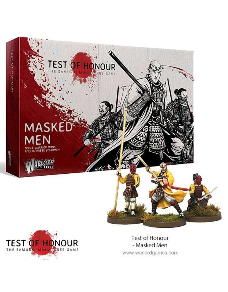 Warlord Games Test Of Honour Masked Men Box Set