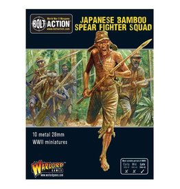 Warlord Games Japanese Bamboo Spear Fighter squad