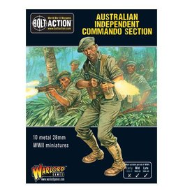 Warlord Games Australian Independent Commando squad