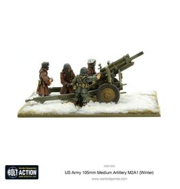 Warlord Games 105mm Medium Artillery M2A1 (Winter)