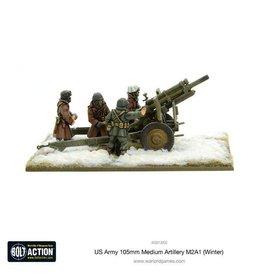 Warlord Games US Army 105mm Medium Artillery M2A1 (Winter)