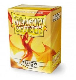 ARCANE TINMEN Dragon Shield Sleeves Matte Yellow (100)