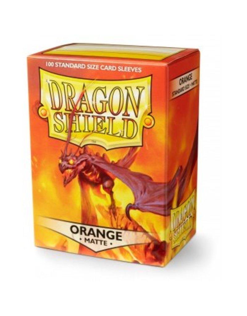 ARCANE TINMEN Dragon Shield Sleeves Matte Orange (100)