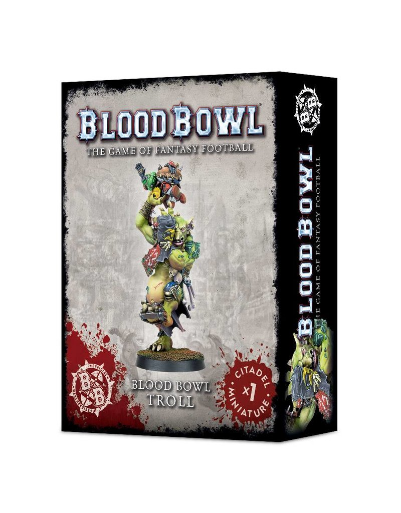 Games Workshop Blood Bowl Troll Star Player