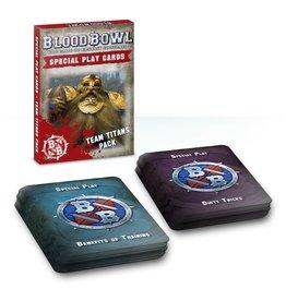 Games Workshop BLOOD BOWL CARDS: TEAM TITANS PACK (ENG)