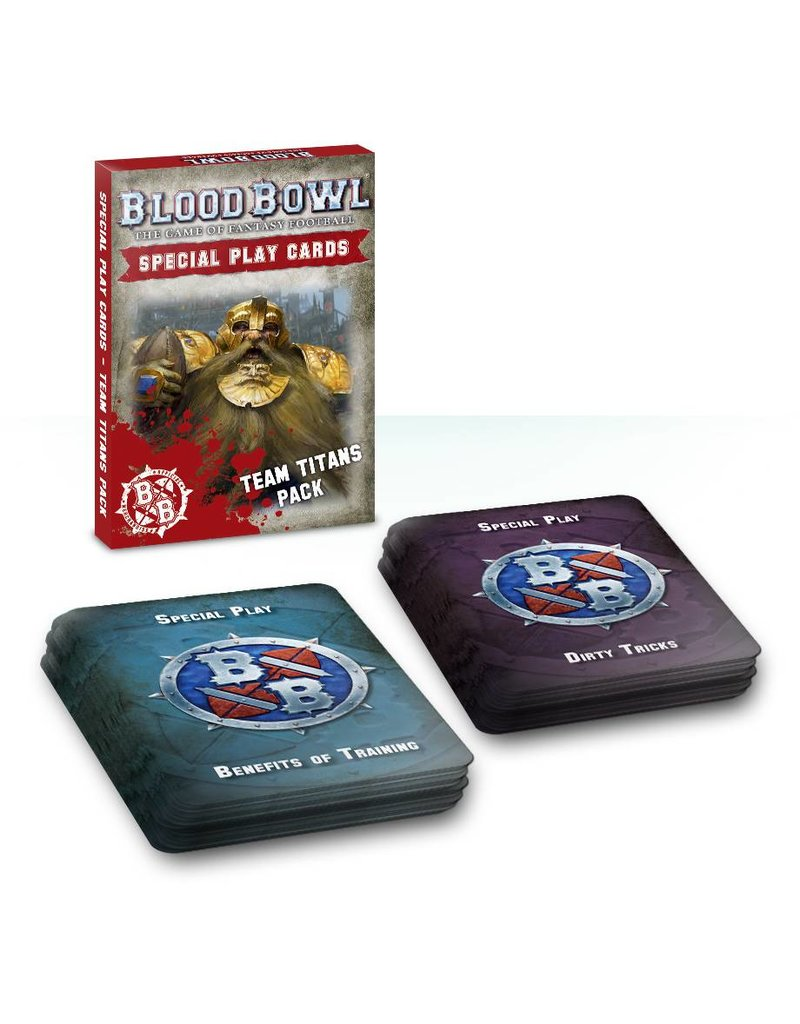 Games Workshop Blood Bowl Cards: Team Titans Pack (EN)