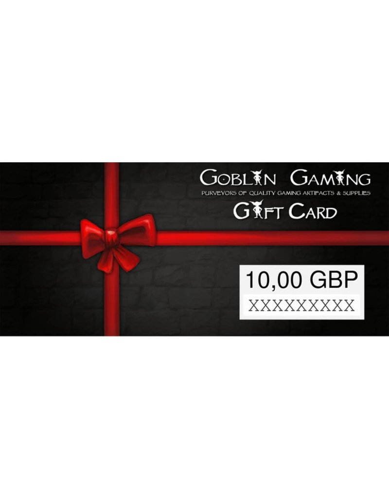 Goblin Gaming £10 Gift Card