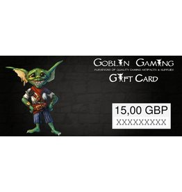 Goblin Gaming £15 Gift Card