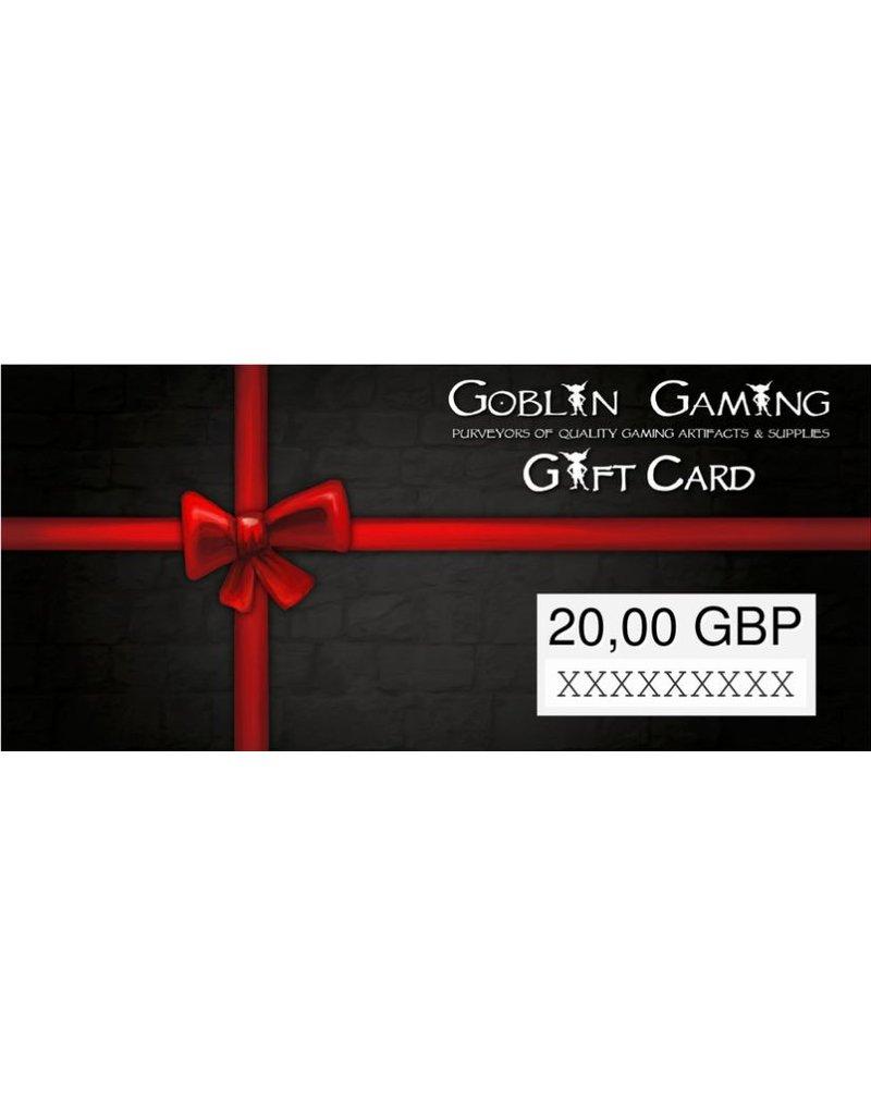 Goblin Gaming £20 Gift Card