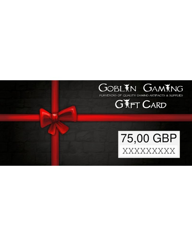 Goblin Gaming £75 Gift Card