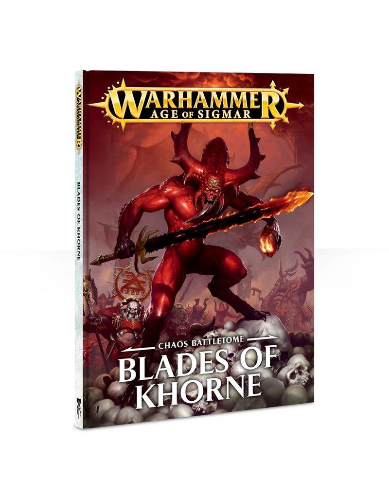 Games Workshop Blades Of Khorne Battletome (HB) (EN)