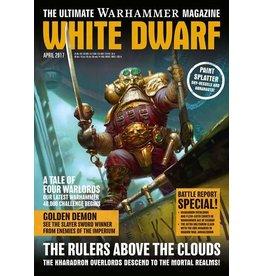 Games Workshop WHITE DWARF (APRIL 2017)