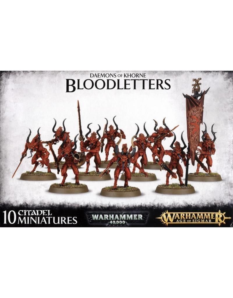 Games Workshop Chaos Daemons Bloodletters Of Khorne