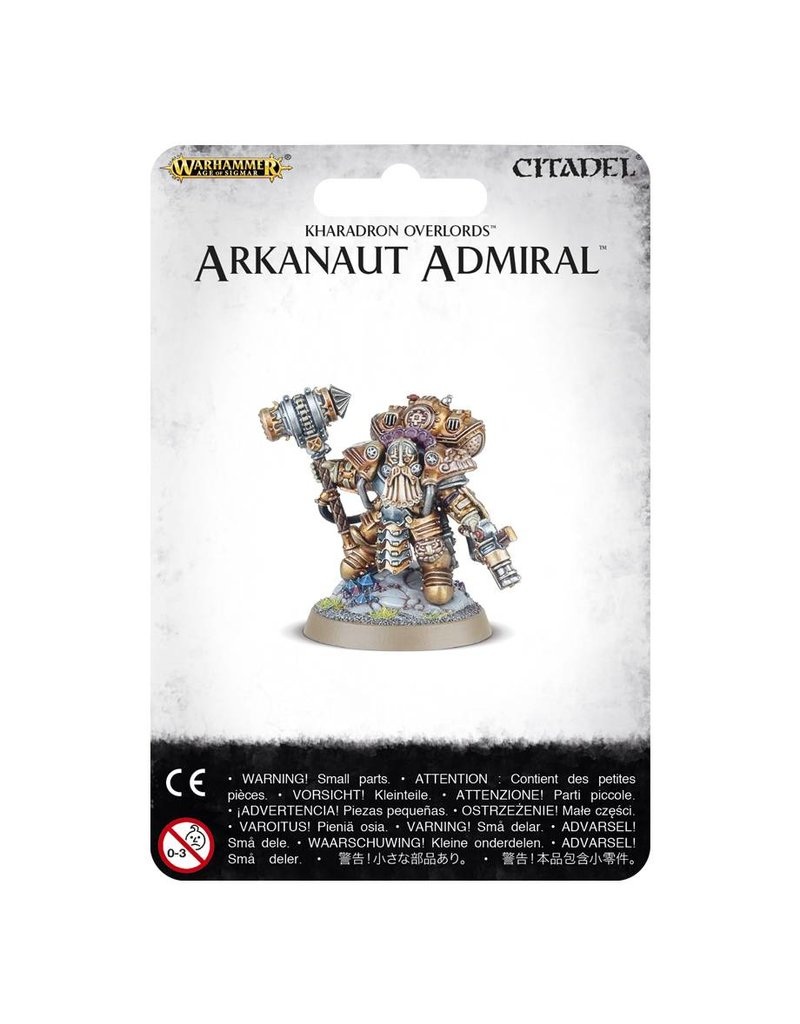 Games Workshop Kharadron Overlords Arkanaut Admiral