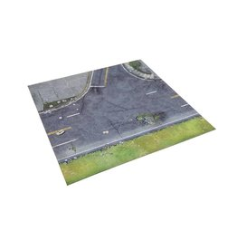 Mantic Games All Out War - Atlanta Suburbs Deluxe Mat