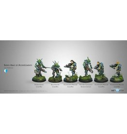 Corvus Belli Shock Army of Acontecimento Sectorial Starter Pack (classic)