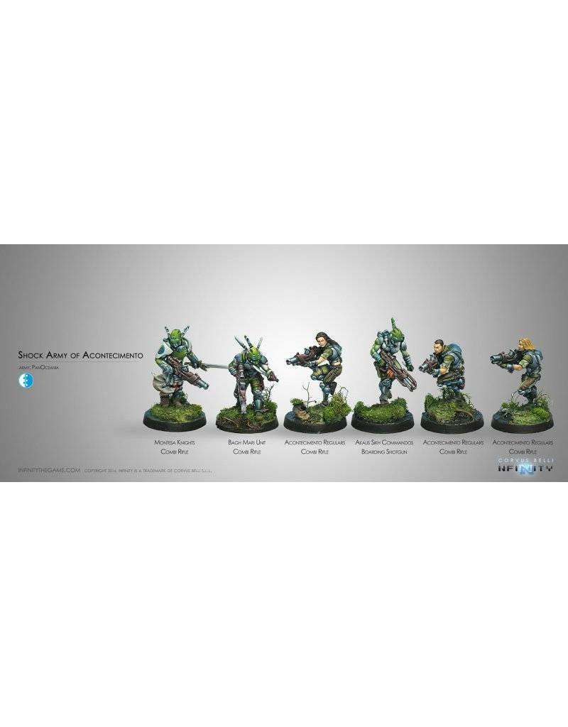 Corvus Belli Panoceania Shock Army of Acontecimento Sectorial Starter Pack (classic) Box Set