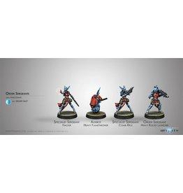 Corvus Belli Panoceania Order Sergeants