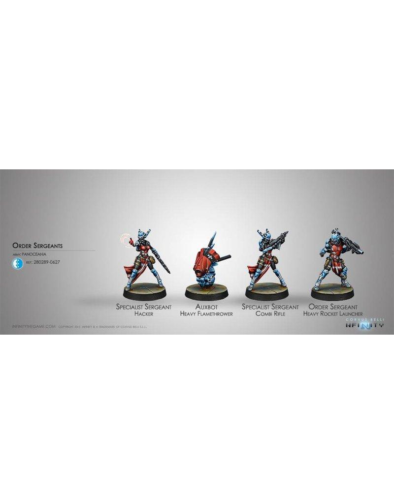 Corvus Belli Panoceania Order Sergeants Box Set