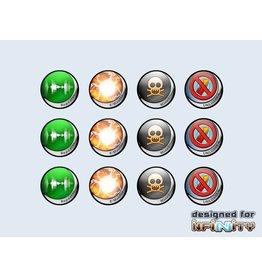 Micro Art Studio Infinity Tokens Deployables #1 (12)
