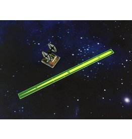 Micro Art Studio Space Fighter Range Ruler Green (1)