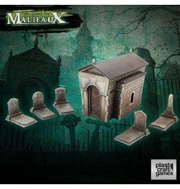 Plast-Craft Graveyard Set Pre-cut