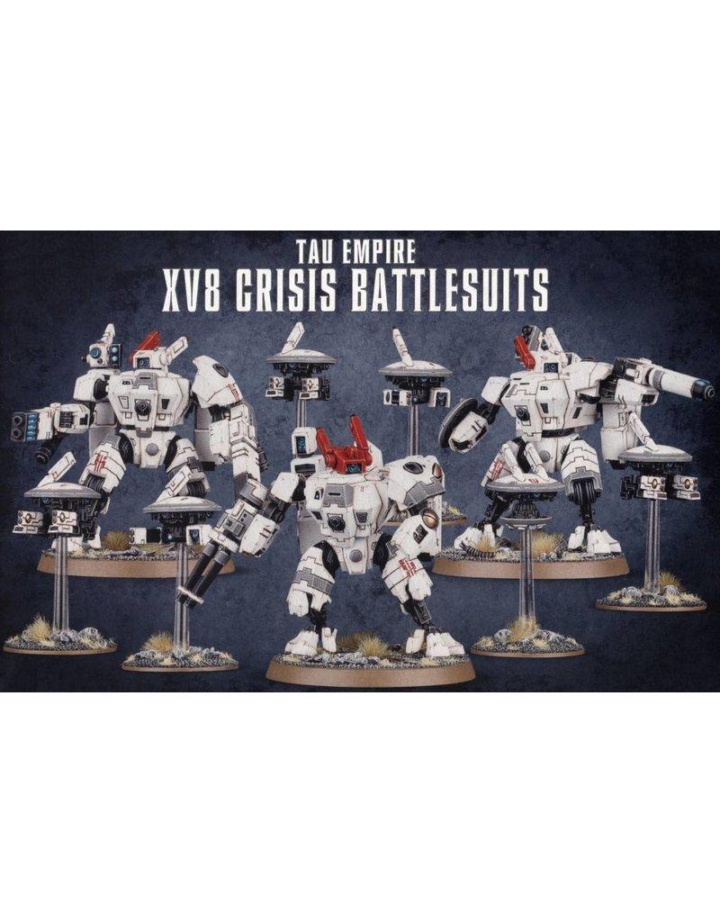 Games Workshop Tau Empire Xv8 Crisis Battlesuits