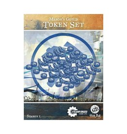 Steamforged Mason's Guild Token Set Season 1