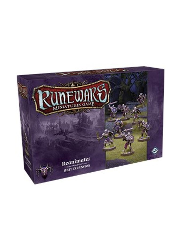 Fantasy Flight Games Reanimates Expansion Pack: Runewars Miniatures Game