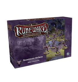 Fantasy Flight Games Reanimate Archers Expansion Pack: Runewars Miniatures Game