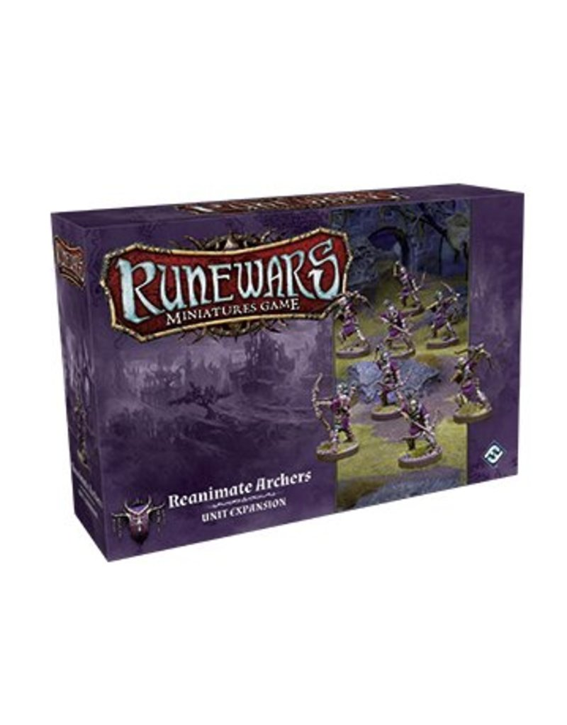 Fantasy Flight Games Reanimate Archers Expansion Pack: Runewars Miniatures Game