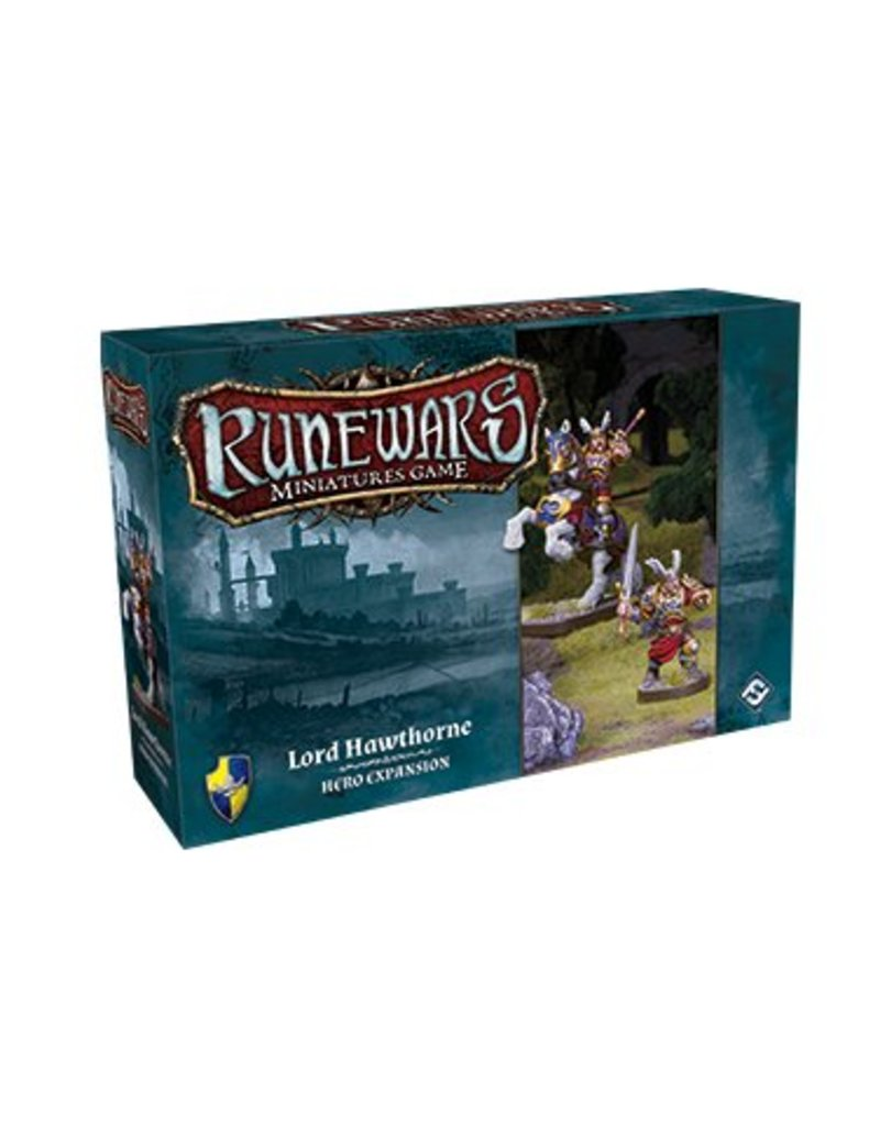 Fantasy Flight Games Lord Hawthorne Expansion Pack: Runewars Miniatures Game