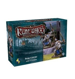 Fantasy Flight Games Rune Golems Expansion Pack: Runewars Miniatures Game