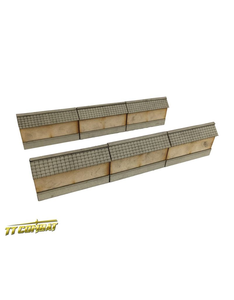 TT COMBAT Yagura Straight Wall Sections