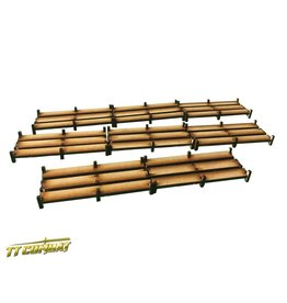 TT COMBAT Wooden Walkways