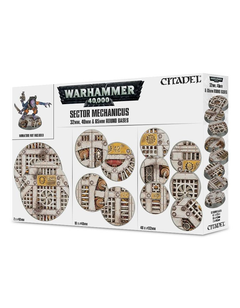 Games Workshop Sector Mechanicus: Mixed Industrial Bases Pack