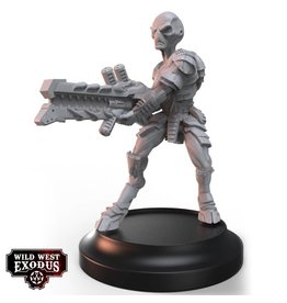 Warcradle Studios Grey with Heavy Drain Rifle (Light Support)