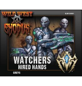 Warcradle Studios Watchers Greys (Hired Hands)