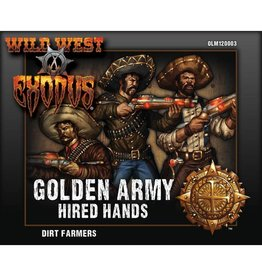 Warcradle Studios Golden Army Dirt Farmers (Hired Hands)
