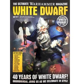 Games Workshop White Dwarf (MAY) 2017