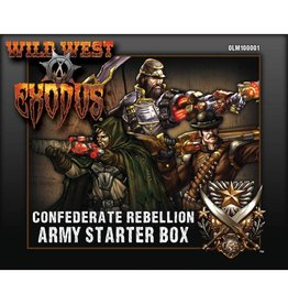 Warcradle Studios Confederate Rebellion Starter Box