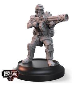 Warcradle Studios Corporal Franklyn (Sidekick)