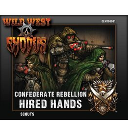 Warcradle Studios Confederate Rebellion Scouts (Hired Hands)