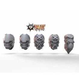 Warcradle Studios Interceptor Riders Alternate Head Pack (5 Heads)
