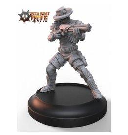 Warcradle Studios Lawmen Deputy with Shotgun (Light Support)